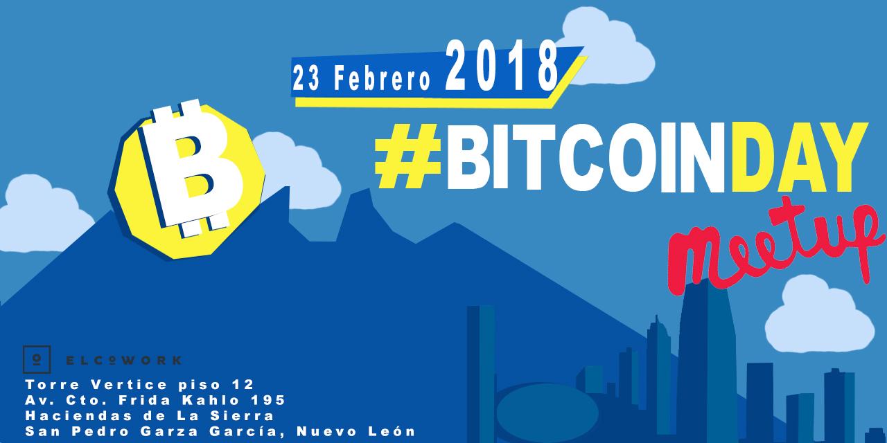 Compra boletos para #Bitcoinday Meetup Monterrey - Boletia
