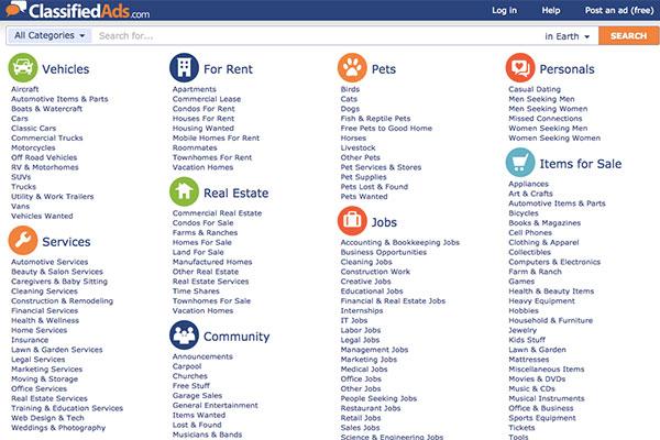 Les 4 meilleures alternatives à Craigslist - - Talkin go money