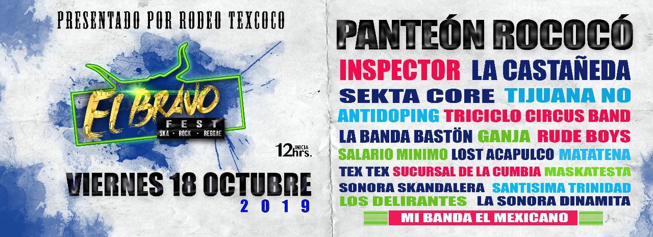 Compra Boletos Para El Bravofest Ska Panteon Rococo Boletia
